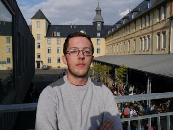 Axel Lapouble, vice-président du CVL ©Hélène Lafitte