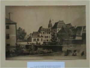 Lycée Impérial de Tarbes vers 1830