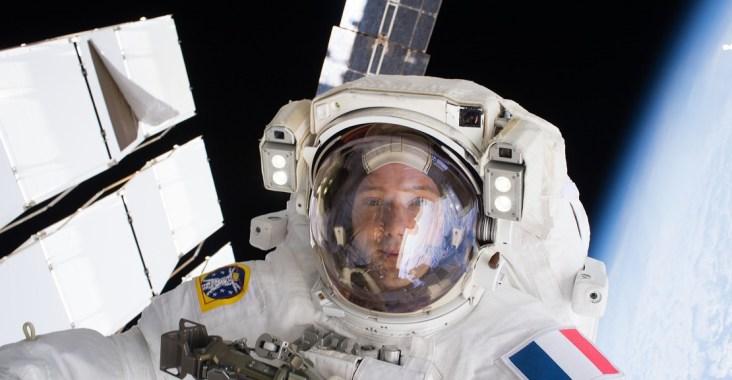 Thomas Pesquet dans l'espace 13 janvier 2017