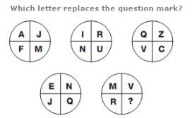 Missing Letters Logical Thinking Tests