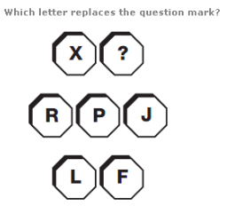 Missing Letters Reasoning Test Questions with Solutions