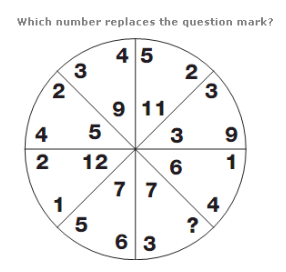 Number Puzzles Quiz Test Questions and Answers