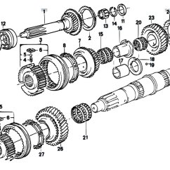 Bmw E30 M10 Wiring Diagram Chevy Steering Column Workshop Manual Sections | The Opel Project