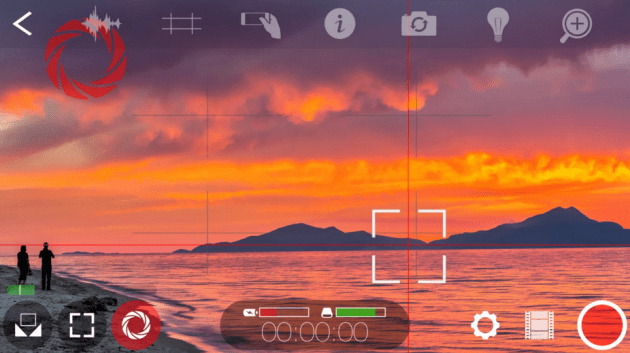 The inexpensive FiLMiC Pro app allows greater control over exposure, aperture, shutter speed, and other settings.