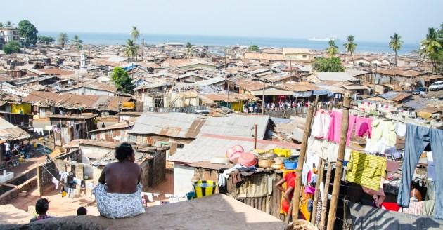 Freetown woman