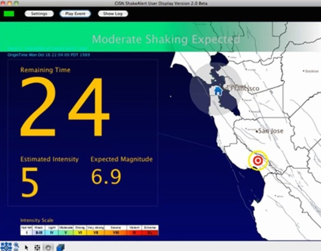 In a repeat of Loma Prieta, the Bay Area would receive an alert 24 seconds before the shaking starts. (Originally published in the East Bay Express.)
