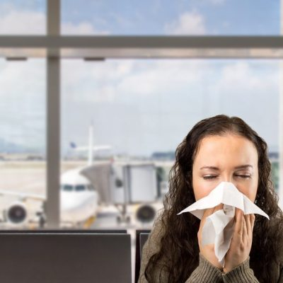 Cough! Sniffle! Sneeze! How to Stay Healthy on the Road.