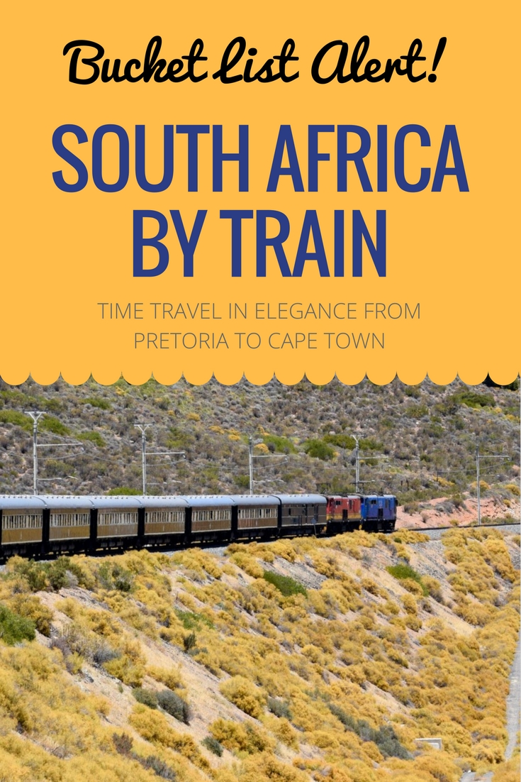 Start your African safari adventure right with a luxe train trip through South Africa's Great Karoo aboard Rovos Rail. A review of South Africa's legendary luxury train travel experience.