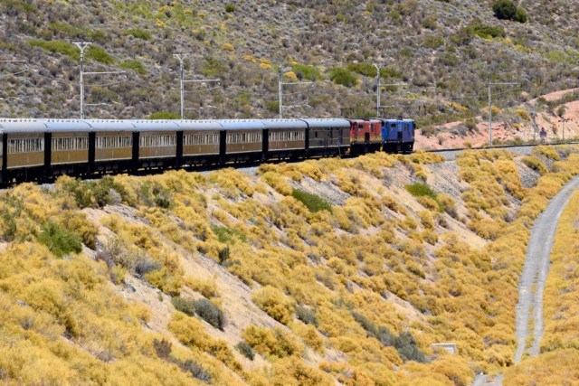 Luxury train travel in South Africa described in a Rovos Rail review