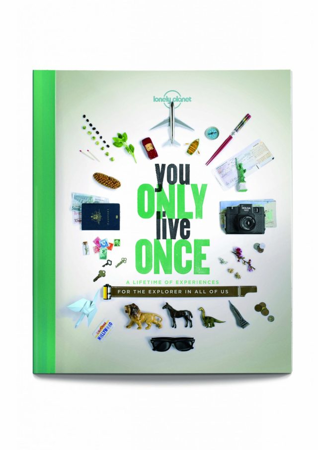 You Only Live Once Lonely Planet Cover
