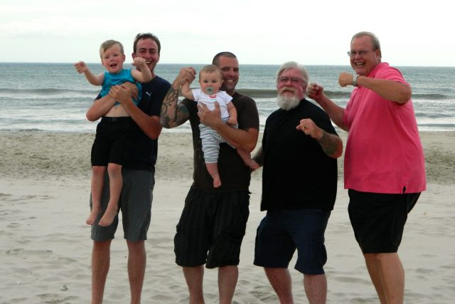 outer banks is a popular spring break destination guys on the beach love it