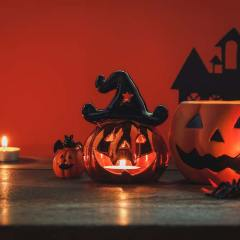 Gather the Ghouls and Goblins! 15 Fun Halloween Candles to Make