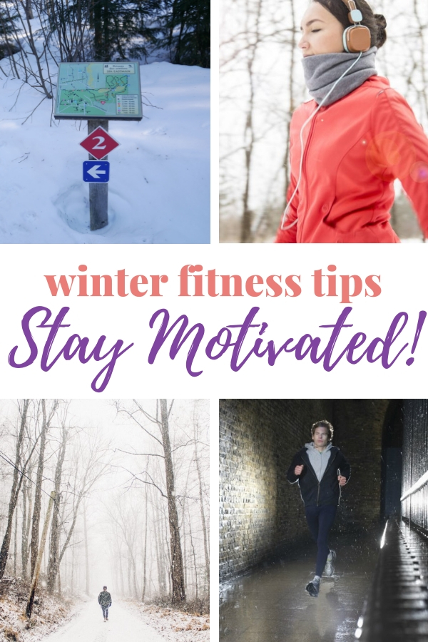 Don't abandon your fitness routine just because the weather's awful. Here are 12 winter fitness tips to keep you motivated until spring. #wellness #weightloss #coldweather