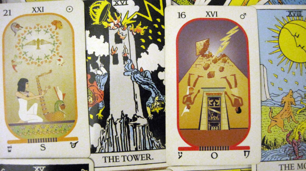 What is the difference between the Rider Waite Tarot and Brotherhood