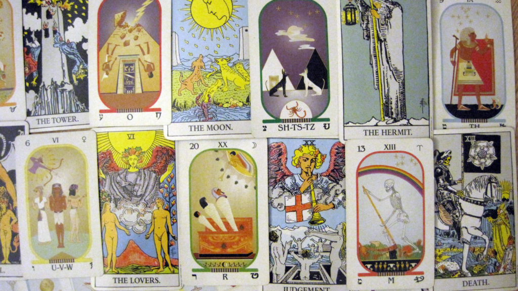 What is the difference between the Rider Waite Tarot and