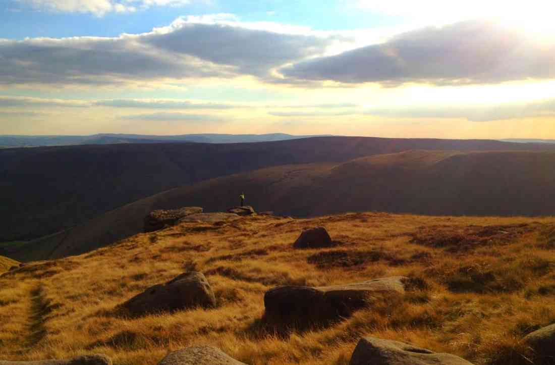 Hiking in the Peak District