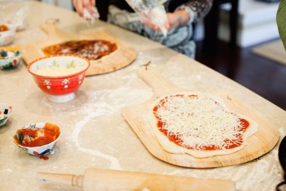 Homemade Grilled Veggie Pizza! #homemadepizza #vegetablepizza #pizzadough