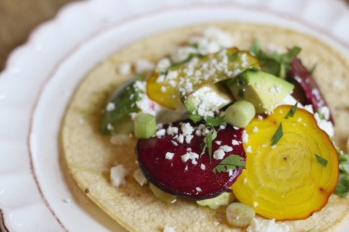"""""""Avocado and Goat Cheese Tacos"""""""