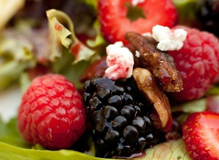 "The ""Summer Berry Salad"""