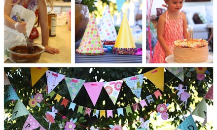 """Recipes for a """"Junk Food Free"""" Birthday Party for Kids!"""