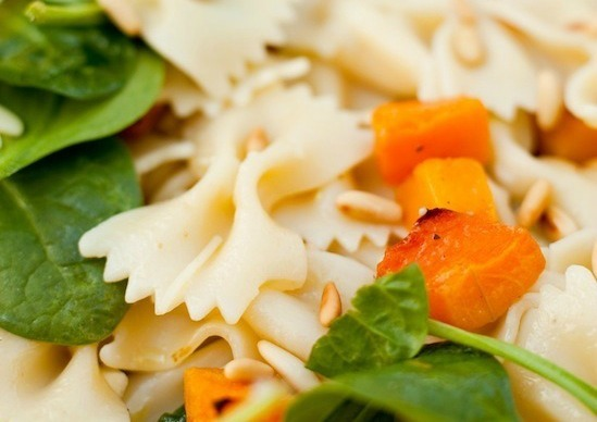 Farfalle Pasta with Roasted Butternut Squash