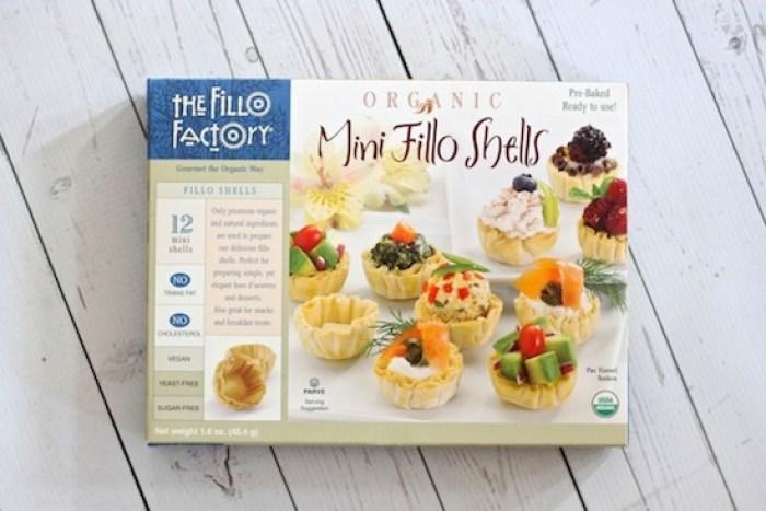 Mini Phyllo Shells used to make Mini Lemon Cheesecakes