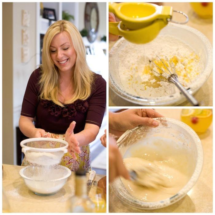 The Best Lemon Cake Ever! #lemoncake #glutenfreelemoncake #lemonglaze #lemonicing