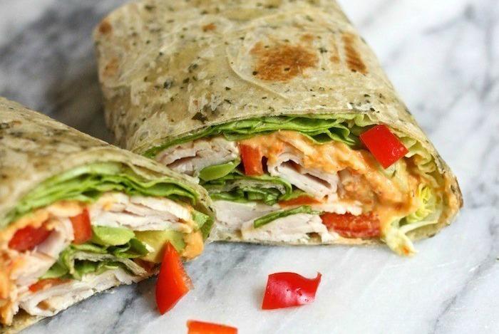 It's a Wrap! The Hummus Turkey Wrap