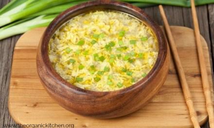 Egg Drop Soup ~ Five Minute Lunch Idea