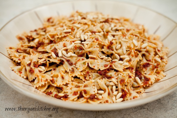 Sun Dried Tomato Pesto Pasta