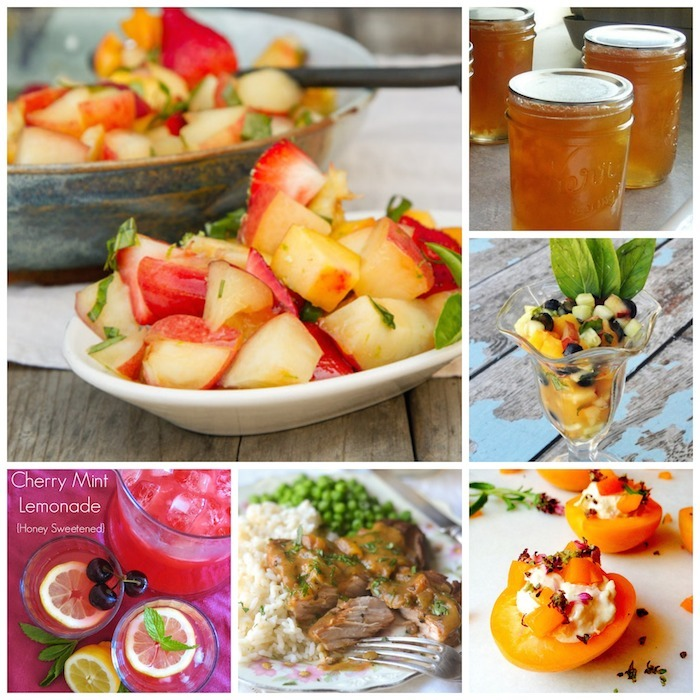 stone fruit recipe collection