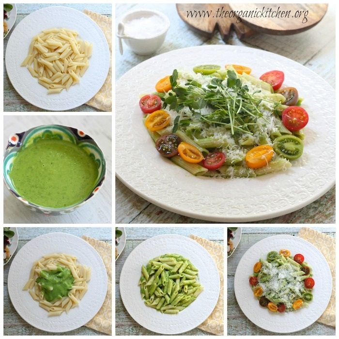 Pasta with Peas and Mint