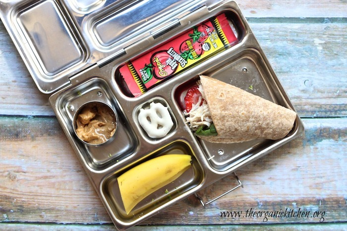 Healthy school lunches from The Organic Kitchen