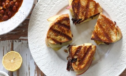 Casual Friday: Gourmet Grilled Cheese and Crispy Brussels Sprout Leaves