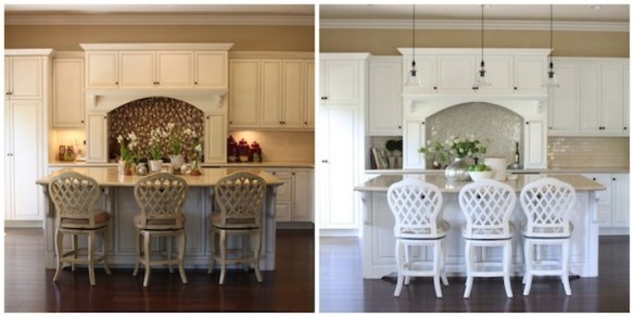 The Tale of the Mini Kitchen Makeover and The Snowball
