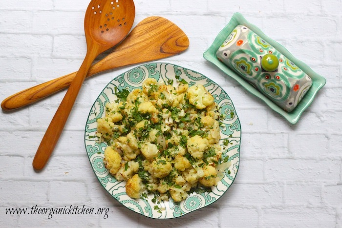 Roasted Cauliflower with Gremolata