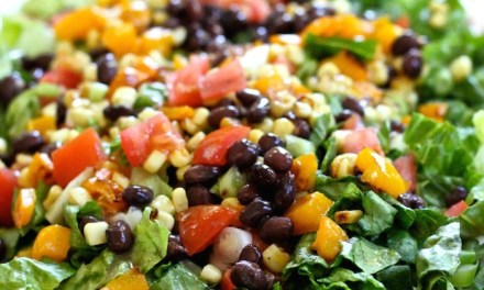 Chopped Mexican Salad with Creamy Chipotle Avocado Dressing
