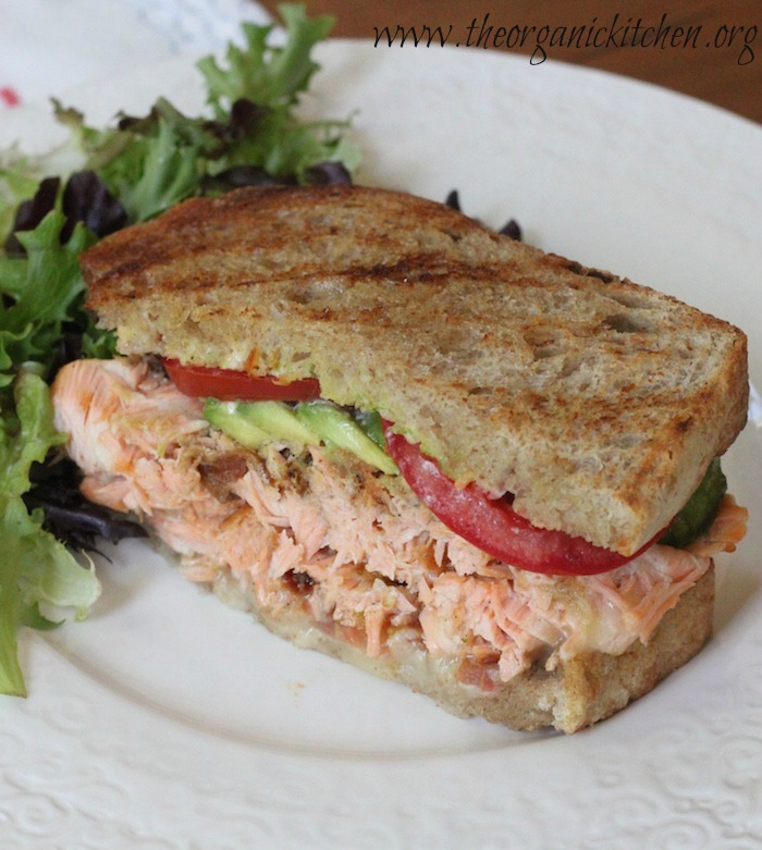 Eating Our Way Across Europe:  Ireland Part 2 ~ Scottish Salmon Sandwich