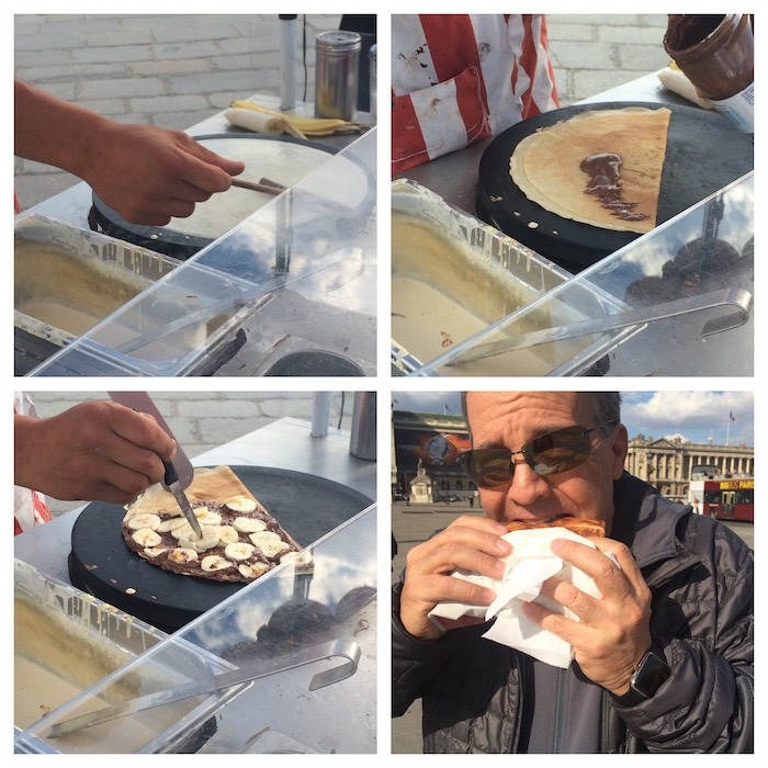 Eating Our Way Across Europe: Paris Part 3 ~ Berry Crepes