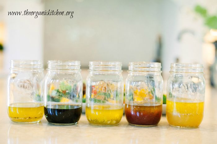 My Five Favorite Summer Salad Dressings!