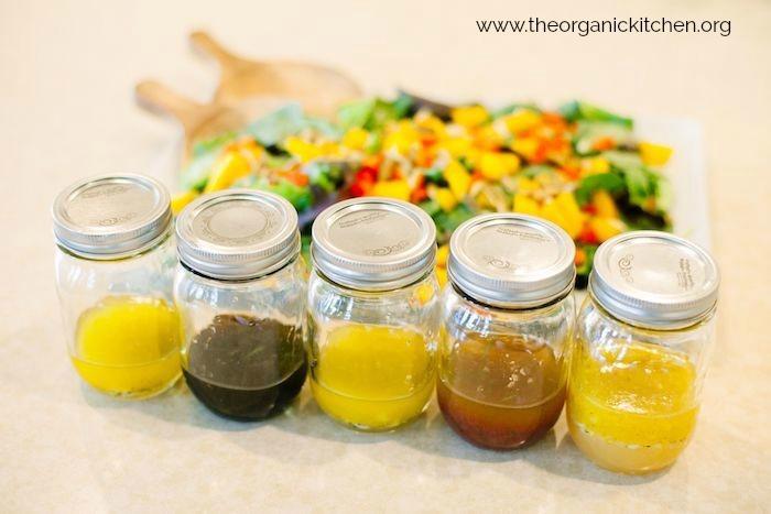 My Five Favorite Summer Salad Dressings