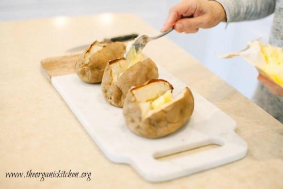 Another Casual Friday Menu: Irish Potato Jackets
