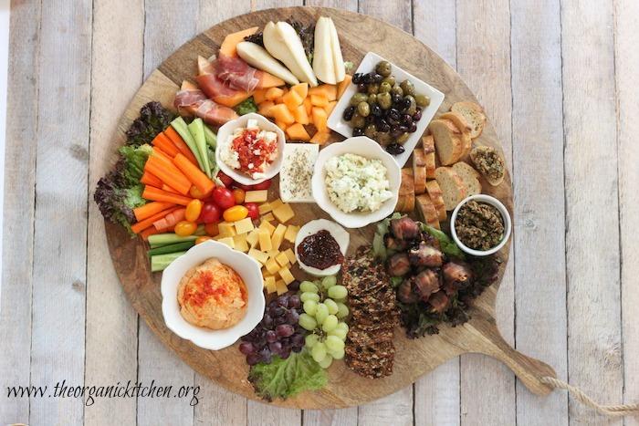 The Ultimate Mediterranean Appetizer Platter | The Organic