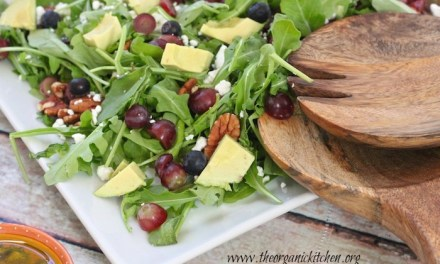 Blueberry and Avocado Salad