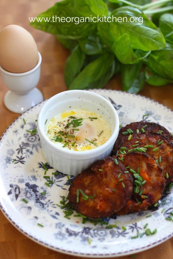 Eggs en Cocotte in the Instant Pot! #eggsencocotte #bakedeggs #instantpot #glutenfree #instantpoteggs