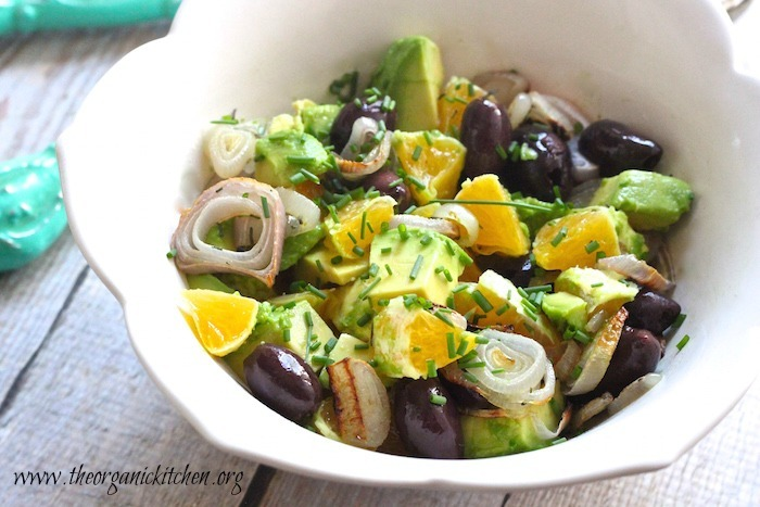 Orange and Avocado Salad: Whole 30, Paleo