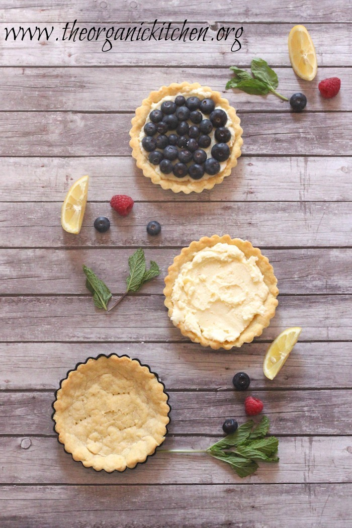 Lemon Berry Mascarpone Tarts