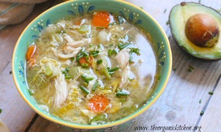More Egg-Citing Egg Drop Soup