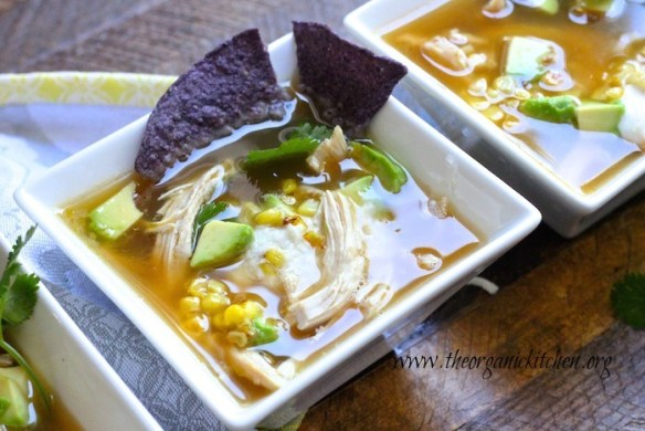 15 Minute Chicken Tortilla Soup!