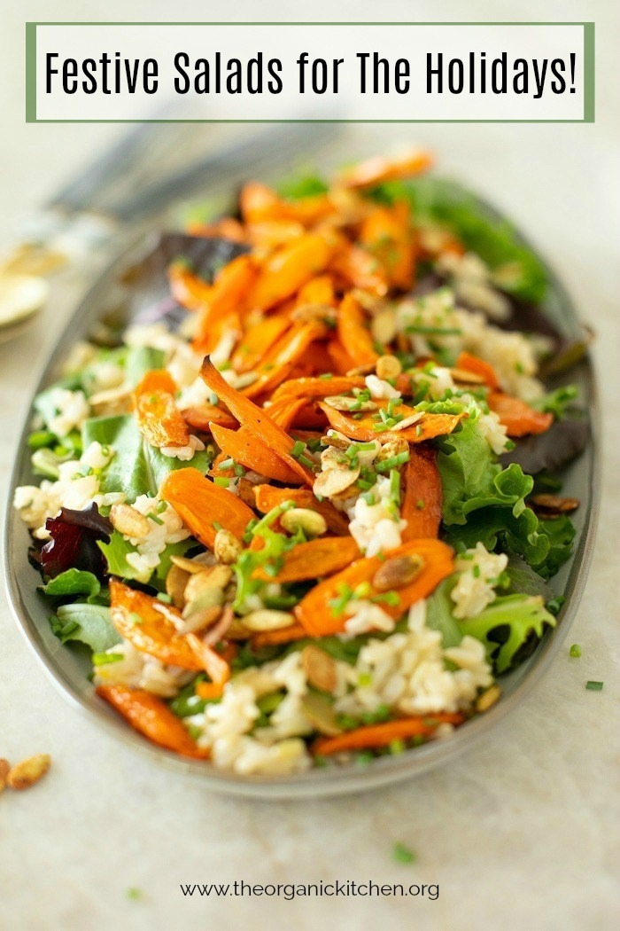 My Favorite Salads for The Holiday Table #holidaysalads #thansgivingsalads #christmassalads
